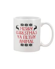 Merry Christmas ya filthy Animal Mug thumbnail