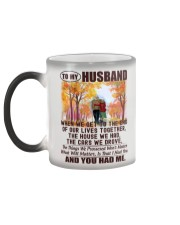 To my Husband - I Love You Forever Color Changing Mug color-changing-left