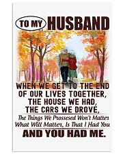 To my Husband - I Love You Forever 11x17 Poster thumbnail