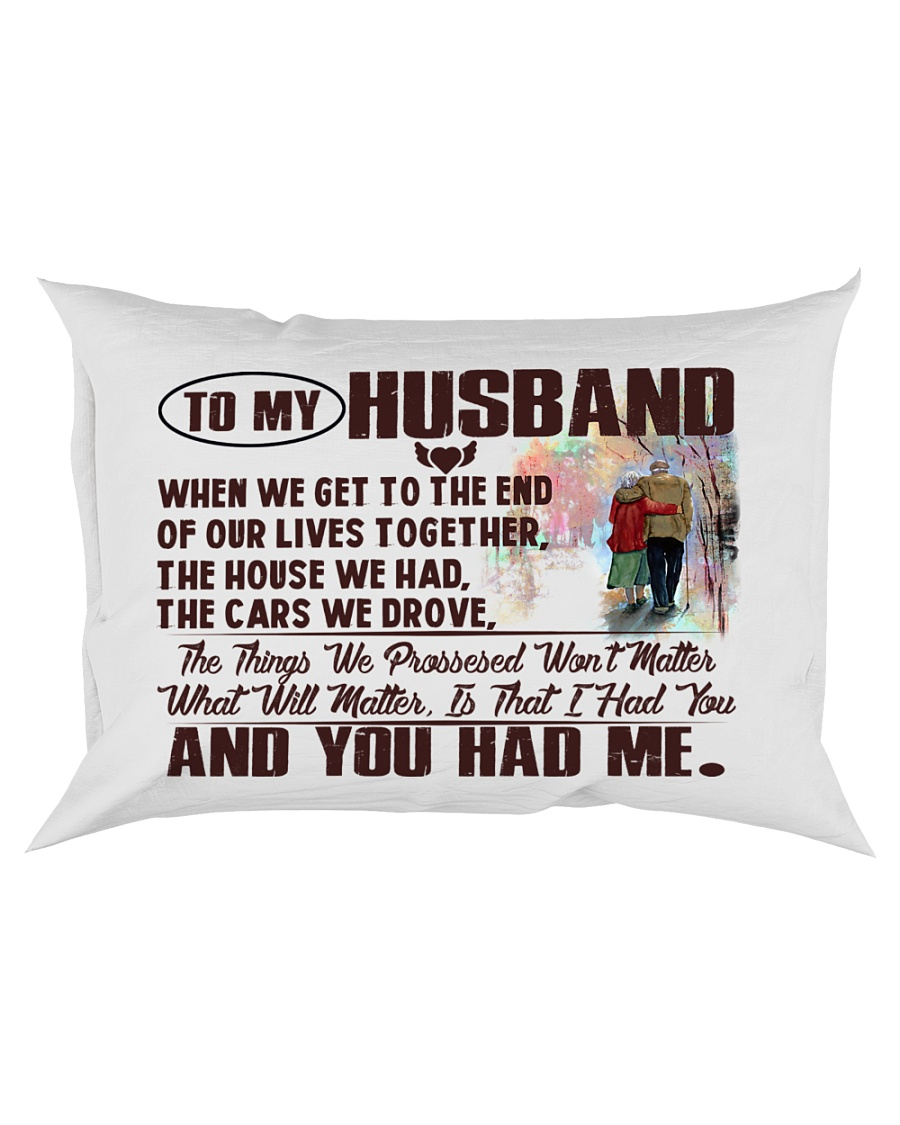 To my Husband Rectangular Pillowcase