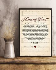 I CROSS MY HEART  11x17 Poster lifestyle-poster-3