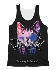 Cool Cat Logo All-over Unisex Tank front