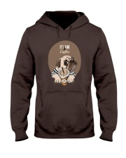 Vêtements Time for coffe pug Hooded Sweatshirt tile