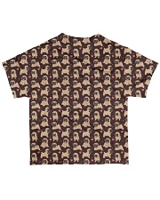 Vêtements Time for coffe pug All-over T-Shirt back