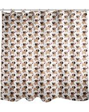 Motif Carlin Shower Curtain thumbnail