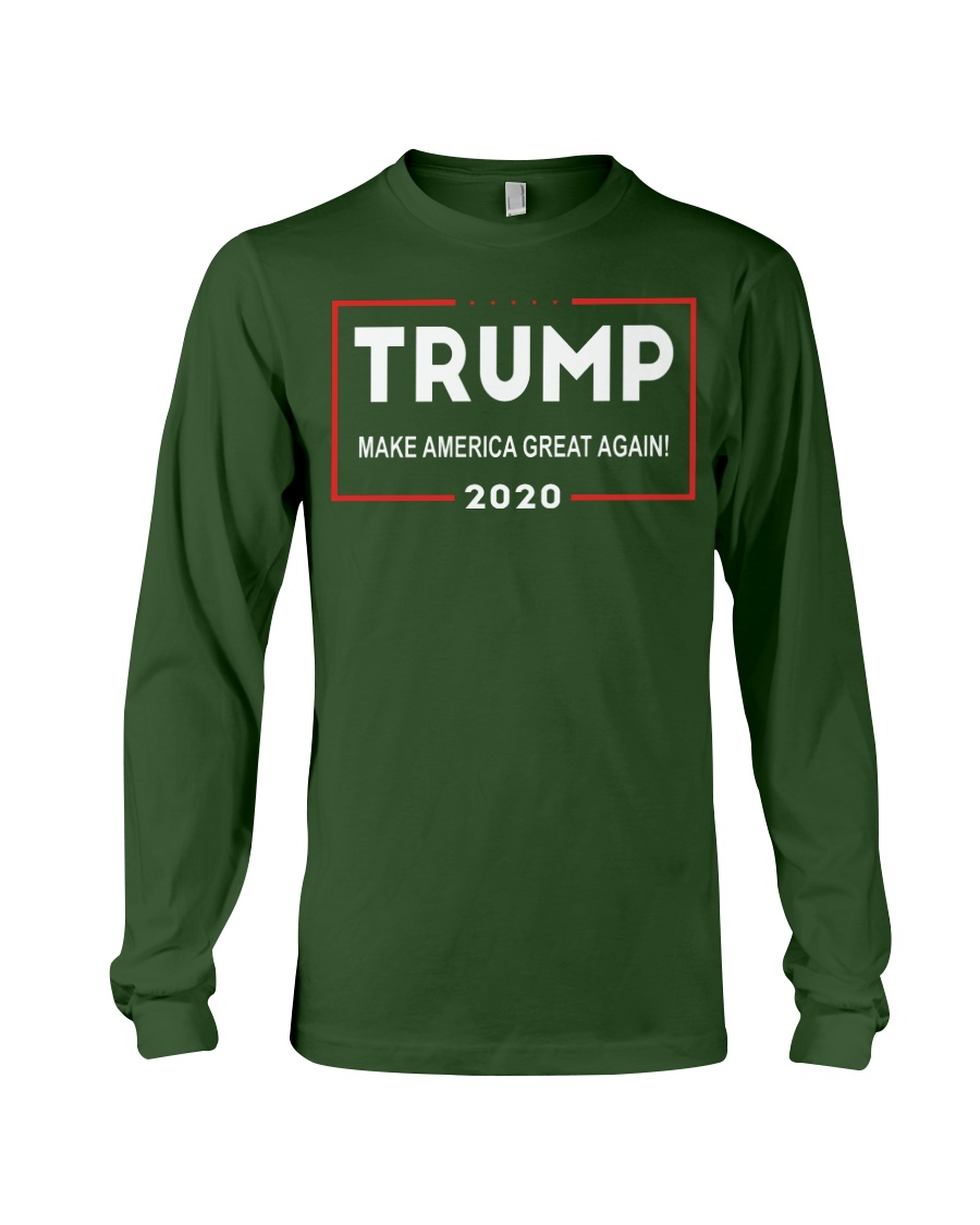 Trump for President 2020 Make America Great Again Long Sleeve Tee