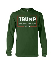 Trump for President 2020 Make America Great Again Long Sleeve Tee front