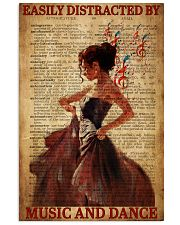 Hobbies-Ballet-Music and dance 11x17 Poster front