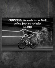 Cycling Champions Are Made In 17x11 Poster aos-poster-landscape-17x11-lifestyle-12