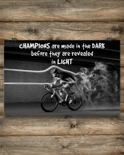 Cycling Champions Are Made In 17x11 Poster aos-poster-landscape-17x11-lifestyle-14