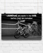 Cycling Champions Are Made In 17x11 Poster aos-poster-landscape-17x11-lifestyle-17