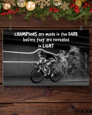 Cycling Champions Are Made In 17x11 Poster aos-poster-landscape-17x11-lifestyle-27