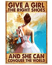 Hobbies-Ballet-She can conquer the world 11x17 Poster front