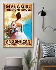 Hobbies-Ballet-She can conquer the world 11x17 Poster lifestyle-poster-1