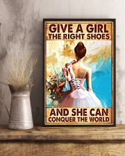 Hobbies-Ballet-She can conquer the world 11x17 Poster lifestyle-poster-3