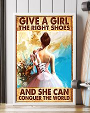 Hobbies-Ballet-She can conquer the world 11x17 Poster lifestyle-poster-4