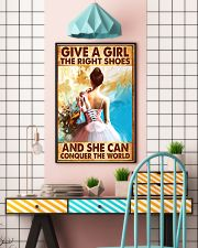 Hobbies-Ballet-She can conquer the world 11x17 Poster lifestyle-poster-6