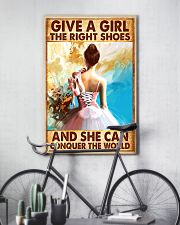 Hobbies-Ballet-She can conquer the world 11x17 Poster lifestyle-poster-7