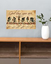 Cycling God Says You Are 17x11 Poster poster-landscape-17x11-lifestyle-24