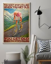 Cycling - You Get Old Vertical 11x17 Poster lifestyle-poster-1