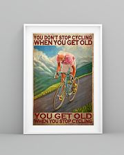Cycling - You Get Old Vertical 11x17 Poster lifestyle-poster-5