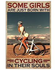 Cycling - Some Girls 11x17 Poster front