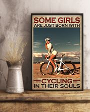 Cycling - Some Girls 11x17 Poster lifestyle-poster-3