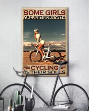 Cycling - Some Girls 11x17 Poster lifestyle-poster-7