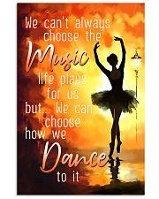 Hobbies-Ballet-choose dance 11x17 Poster front