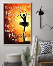 Hobbies-Ballet-choose dance 11x17 Poster lifestyle-poster-1