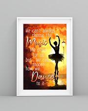 Hobbies-Ballet-choose dance 11x17 Poster lifestyle-poster-5