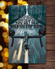 Cycling You Don't Stop Riding 11x17 Poster aos-poster-portrait-11x17-lifestyle-24