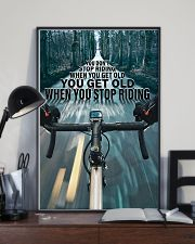 Cycling You Don't Stop Riding 11x17 Poster lifestyle-poster-2