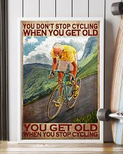 Cycling - You Get Old Vertical 11x17 Poster lifestyle-poster-4