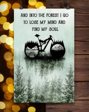 Into The Forest I Lose My Mind Cycling 11x17 Poster aos-poster-portrait-11x17-lifestyle-24