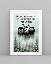 Into The Forest I Lose My Mind Cycling 11x17 Poster lifestyle-poster-5