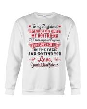 To My Boyfriend Crewneck Sweatshirt thumbnail