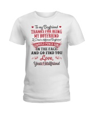 To My Boyfriend Ladies T-Shirt thumbnail