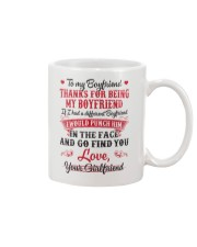To My Boyfriend Mug front