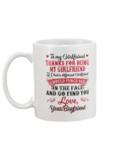 To My Girlfriend Mug back