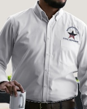Civil Defense Dress Shirt garment-embroidery-dressshirt-lifestyle-02