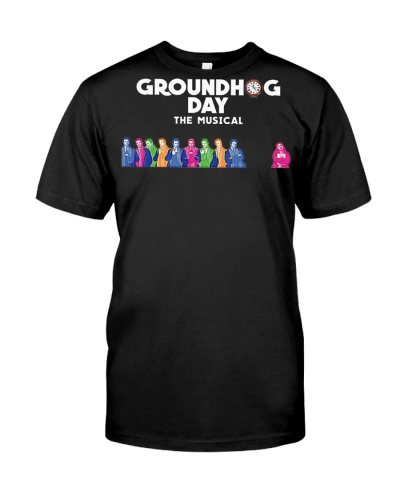 Groundhog Day The Musical tee andy karl broadway m