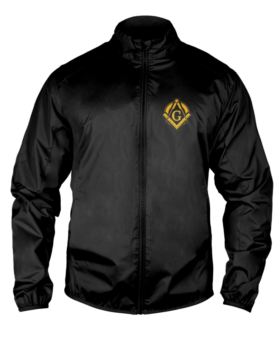 Masonic Embroidery Jacket Lightweight Jacket
