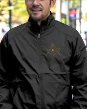 Master Mason Embroidery Jacket Lightweight Jacket garment-embroidery-jacket-lifestyle-02