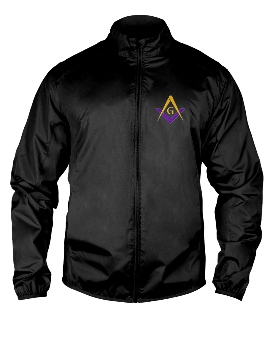 Blue Lodge Masonic Embroidery Jacket Lightweight Jacket