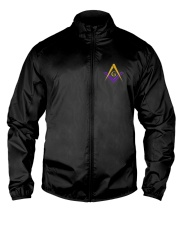 Blue Lodge Masonic Embroidery Jacket Lightweight Jacket front