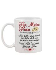 MEINE FRAU Mug back