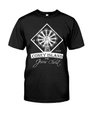 Coney Island for Jesus Classic T-Shirt front