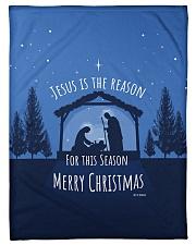"Jesus is the Reason Small Fleece Blanket - 30"" x 40"" thumbnail"