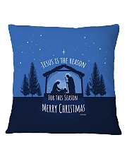Jesus is the Reason Square Pillowcase thumbnail